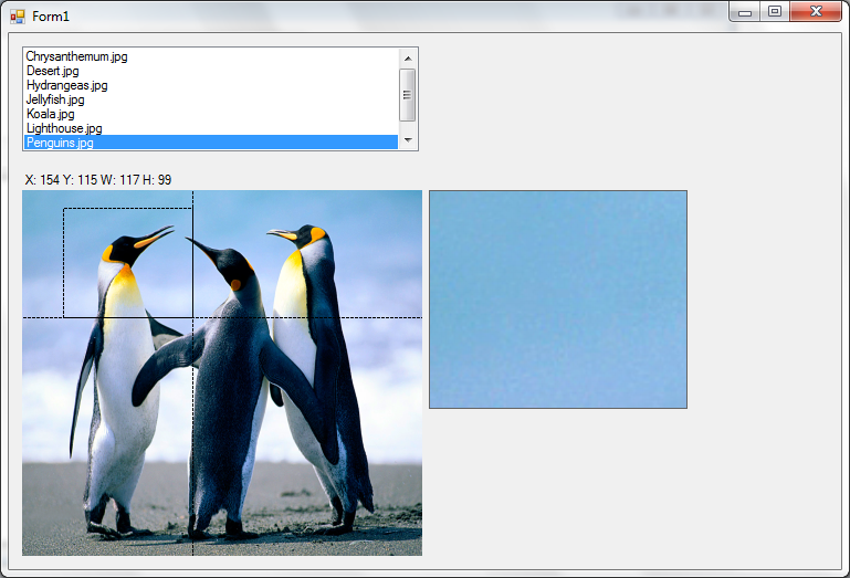 how to make a picturebox spawn on another picturebox vb