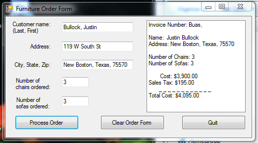 setting invoice number right vbforums