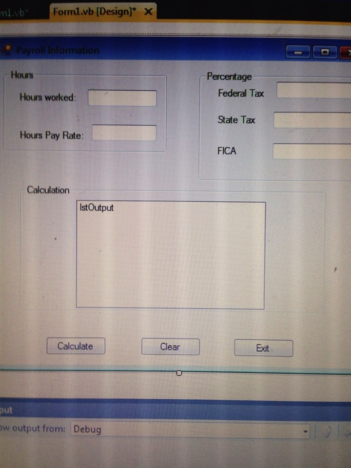 I need help with creating a payroll in visual basic-VBForums