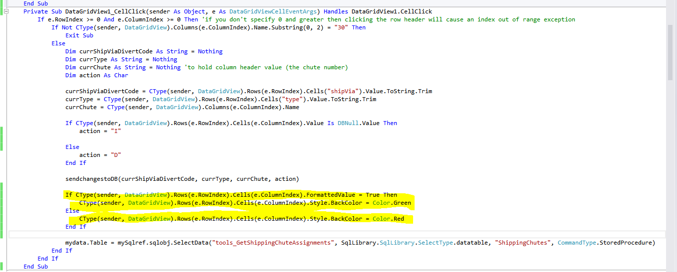 VS 2012 [RESOLVED] datagridview cell formatting - a couple of issues