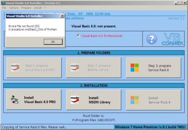 Windows 7 64-bit -- Library Not Registered problem - Page 2-VBForums
