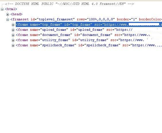 Loop Through Html Frames To Nested Table Contents Vbforums