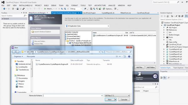 Deploying VB NET Application with Crystal Reports [SOLVED