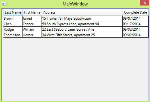 WPF DataGrid Sortable Column Header-VBForums