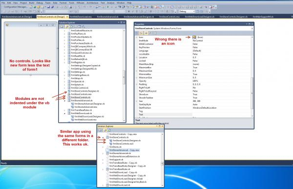 visual basic how to change forms from the same window