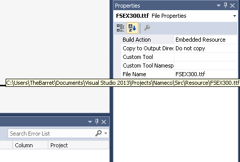 Embedding custom fonts into your application-VBForums