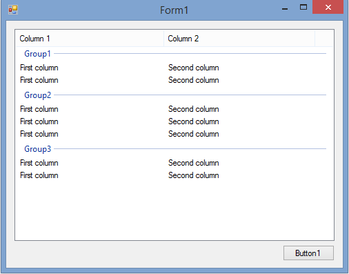 VS 2015 [RESOLVED] Listview with inner groups-VBForums