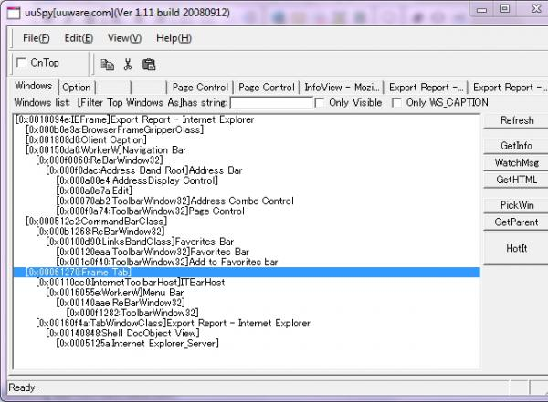 MsOf10 IE Automation - Getting Window Handles-VBForums