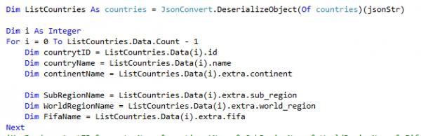 Nothing value in Json-VBForums