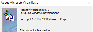 Installing the VB6 IDE on Windows 10 - 64 bit -VBForums