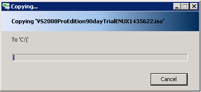 Produce a custom explorer copy/paste dialog-VBForums