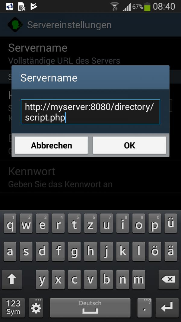 Wlan home network: how can a Vb6 winsock receive data from android