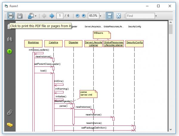 Displaying an excel file or a pdf file in vb6 form-VBForums