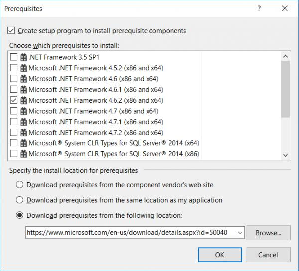 ClickOnce, Installing a Program as Part of the Install-VBForums