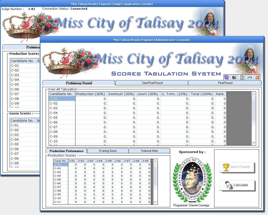 pageant tabulation system A tabulation system for delivery to a medium of data information suitably arranged for tabulation of character series and ruled lines, and a control for controlling the data information arrangement applied to the medium.