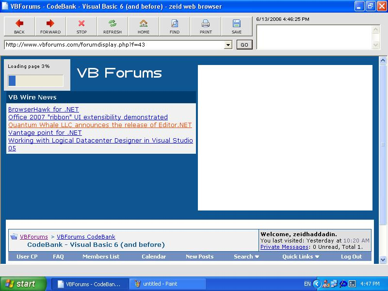 visual basic web browser This instructable explains the process of creating a simple web browser application in vbnetit is designed as a followup to my first vbnet instructable: creating.