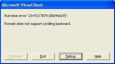 RESOLVED] rowset does not support scrolling backward-VBForums