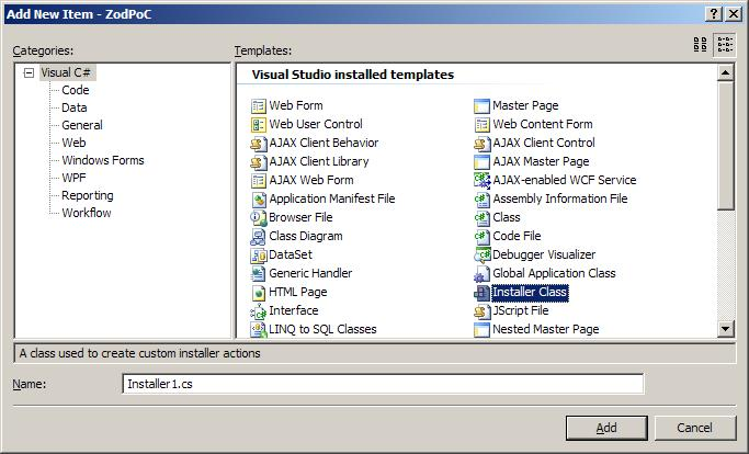 2008 installer class template missingo vbforums attached images ccuart Gallery