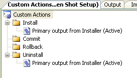 RESOLVED] [2008] Setup Project Custom Actions &  VBS File