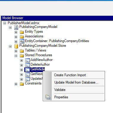 Tutorial: An Introduction to the ADO NET Entity Framework