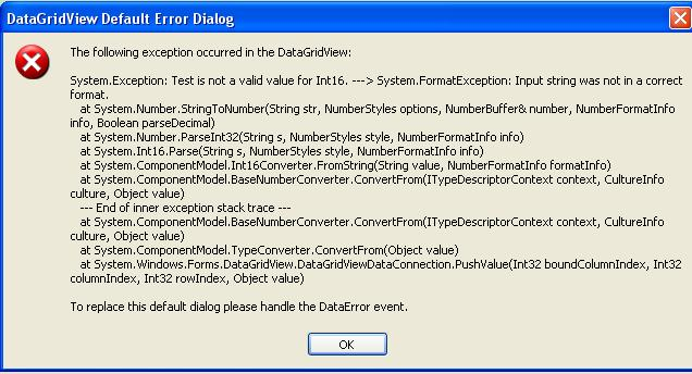 DataGridView - Add Text To Cell-VBForums