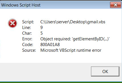 Why this VBS doesn't work in IE9 but works in IE8-VBForums