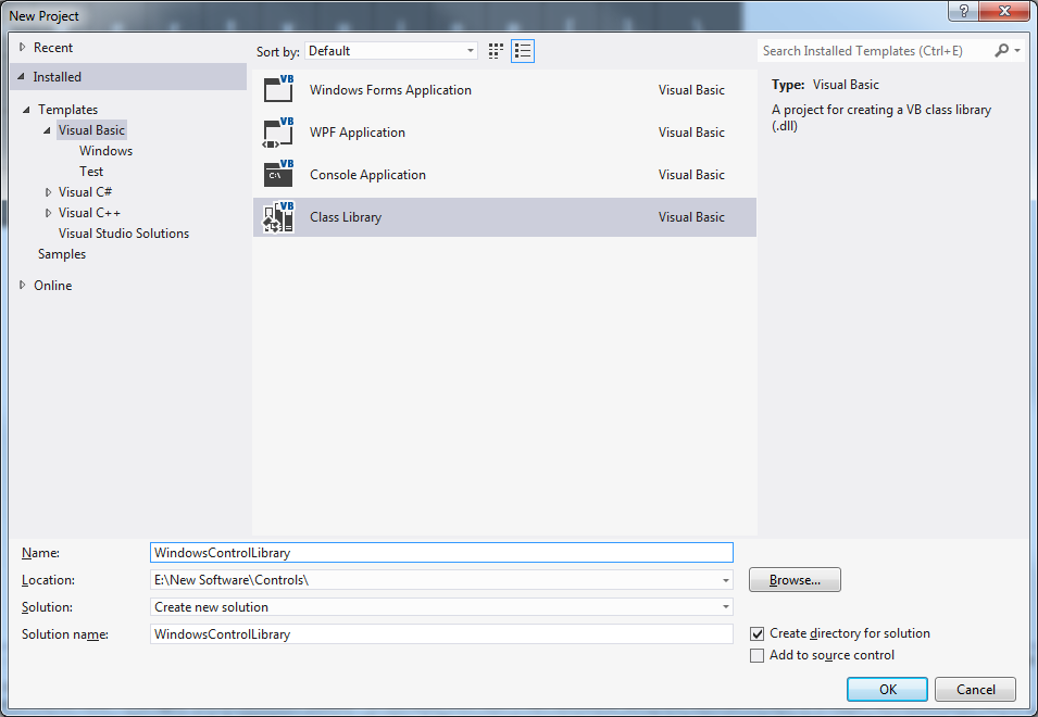VS2012 Express Custom and User Control-VBForums