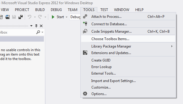 How to use Report Viewer with Visual Studio 2012 Express-VBForums