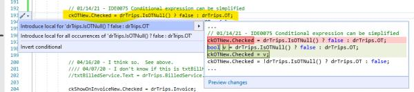 Name:  IDE0017 Quick Actions and Refactoring.jpg Views: 24 Size:  19.1 KB